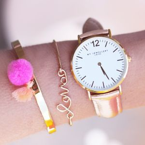 My Jewellery Limited Watch Small 2.0 – Bronze/Gold