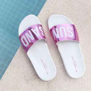 Sun & Sand Slippers - Pink