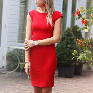 Basic Dress 2.0 - Red