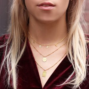 Love Necklace - Gold/Silver