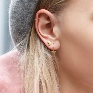 Triangle Earrings - Gold/Silver/Rose