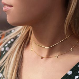 Minimal Twist Necklace - Gold/Silver