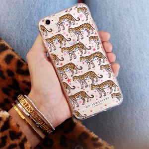 Leopard & Stars Iphone Case