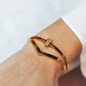 V Bangle - Gold/Silver/Rose