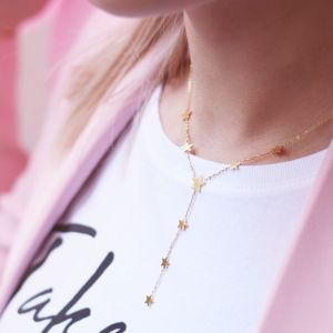 Stars Y Necklace - Gold/Silver