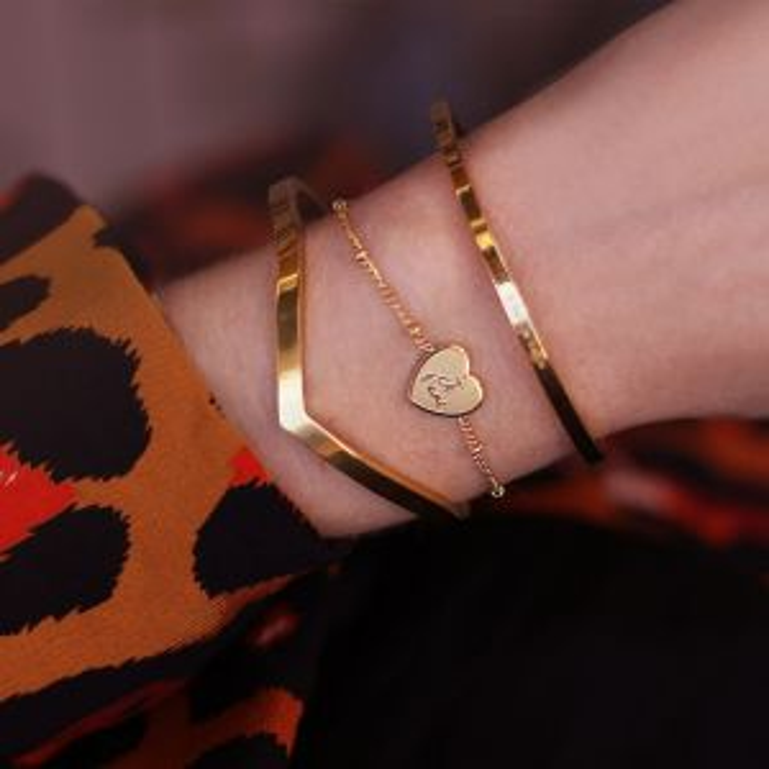 Custom Bracelet Je T'aime