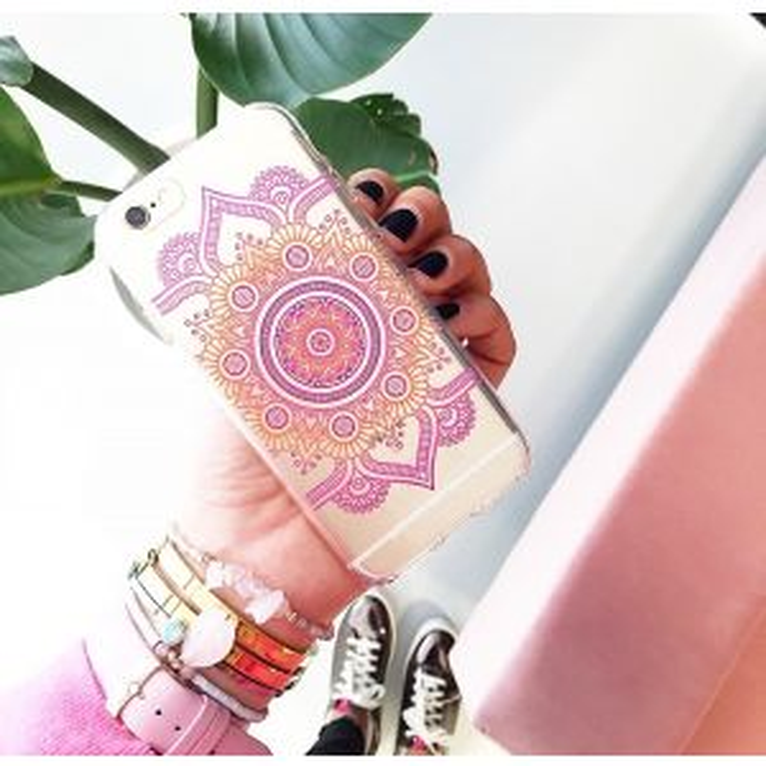 Multi Color Mandala Case - Iphone