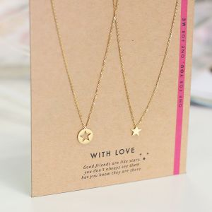 BFF Necklace Star