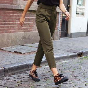 Color Pantalon Belt - Army