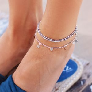 Little Dots & Chain Anklet