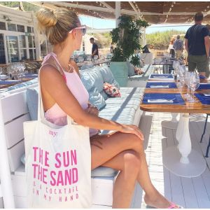 Tote Bag - The Sun The Sand & A Cocktail In My Hand