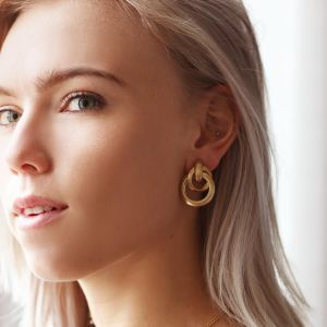 Mixed Hoops Earrings