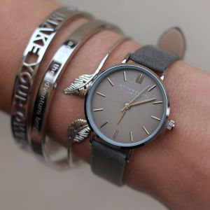 My Jewellery Limited Watch Small - Grey Silver