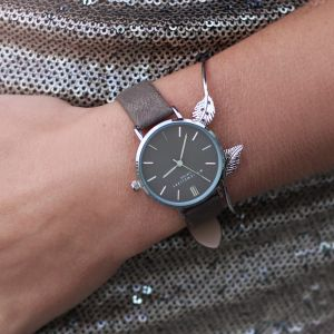 My Jewellery Limited Watch Small - Taupe Silver
