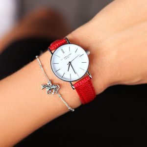 Small Vintage Watch - Red