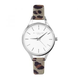 Leopard Watch Grey