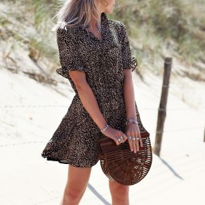 Camo Printed Dress