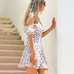 Flower Dress - White