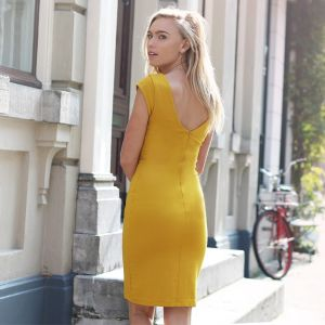 Basic Dress 2.0 - Yellow