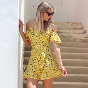Flower Dress - Yellow