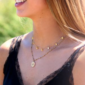 Small Heart Necklace - Gold/Silver