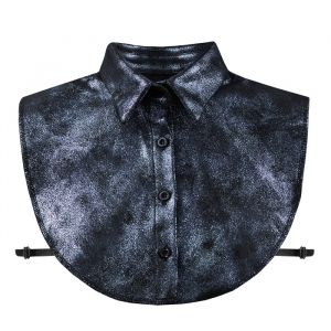 Dark Blue Glitter Collar