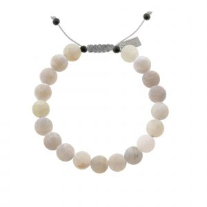 Mr. Jewellery Beads Bracelet - Light Grey