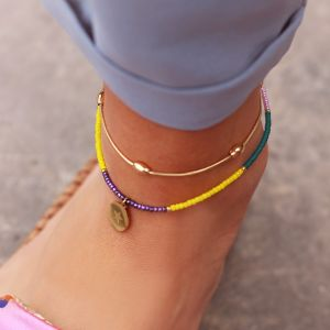 Oval Dots Anklet