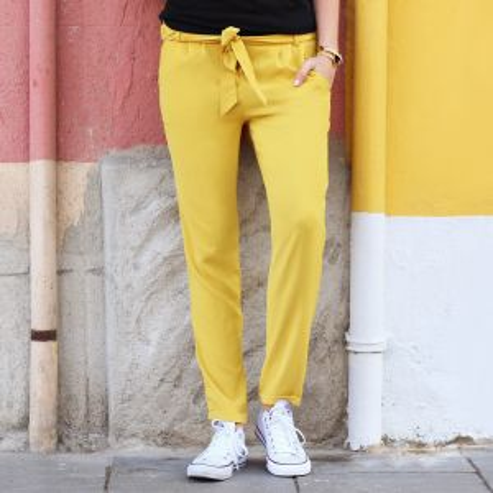 Ultimate summer pants - Yellow