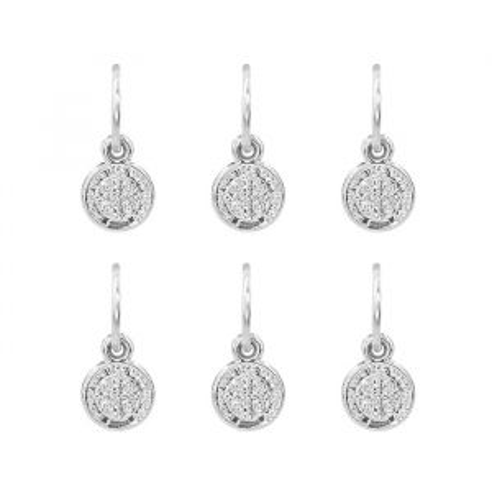 Hair Jewellery - Coin - 6 Piece set