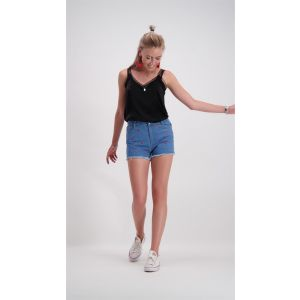 Hearts Short - Denim