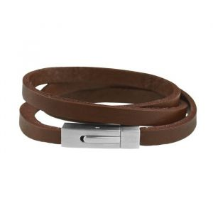 Mr. Jewellery Wrapped Bracelet - Brown