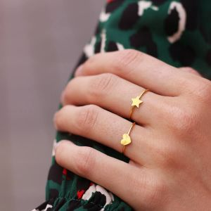 Little Star Ring - Gold/Silver