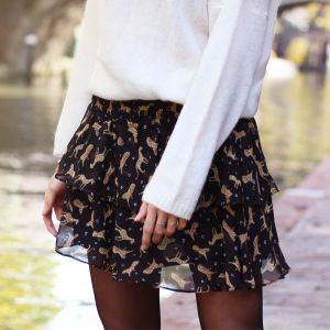 Leopard Figure Skirt