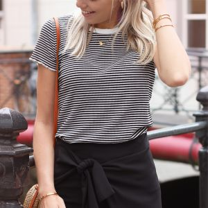 The Black Stripe Tee