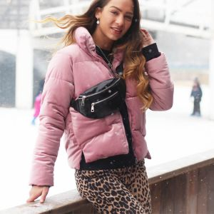 Roze Puffer Jacket