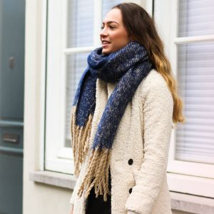 Denim Blue Comfy Scarf