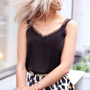 Basic Lace Top - Black