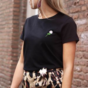 City Shirt Rose - Black