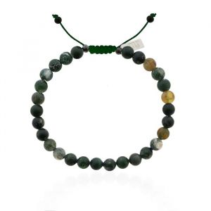 Mr. Jewellery Beads Bracelet - Army