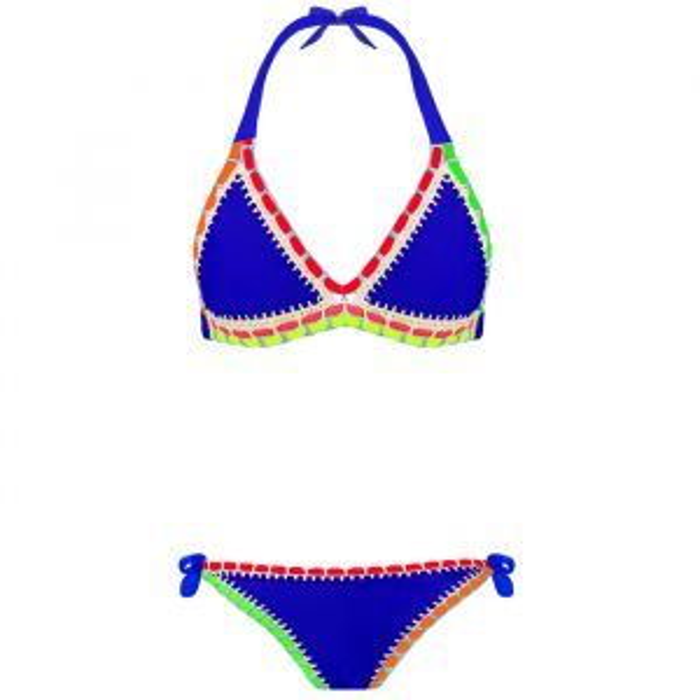Bikini Ibiza Boho blauw