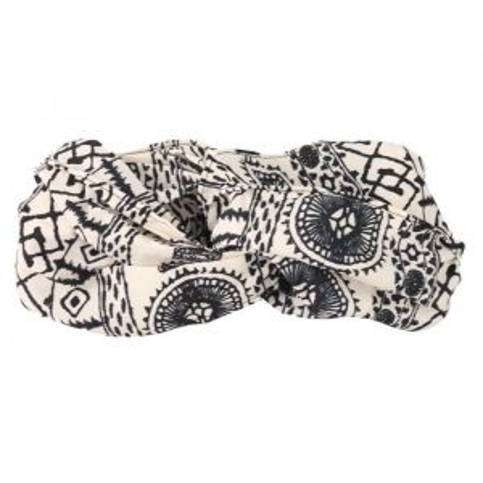 Headband Black/White