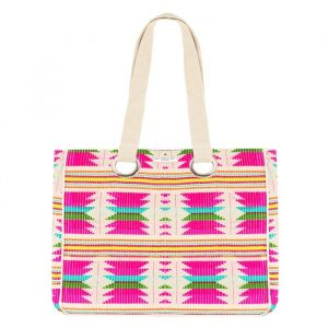 Ibiza Beach Bag - Fuchsia