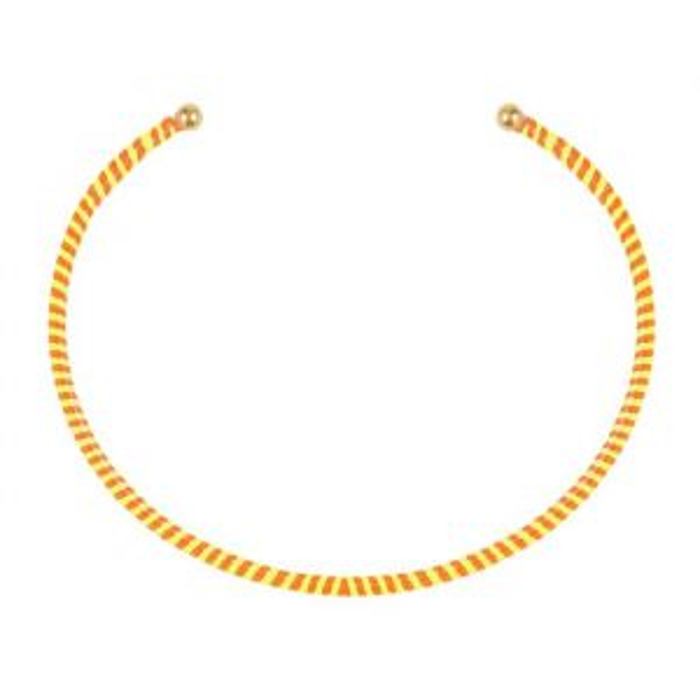 Cuff Bracelet - Yellow/Orange