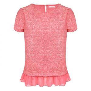 Chique Ruffle Top - Pink