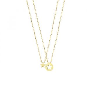 BFF Necklace Star - Gold/Silver
