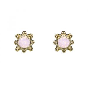 Sunshine Studs Light Pink - Silver/Gold