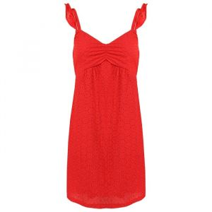 Crochet Dress - Red