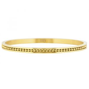 Dots Bangle - Silver/Gold/Rose