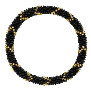 Little Beads Bracelet - Black/Gold